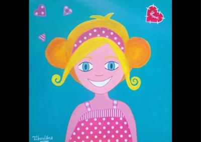 """""""Blondinette"""" (30/30 cm)"""