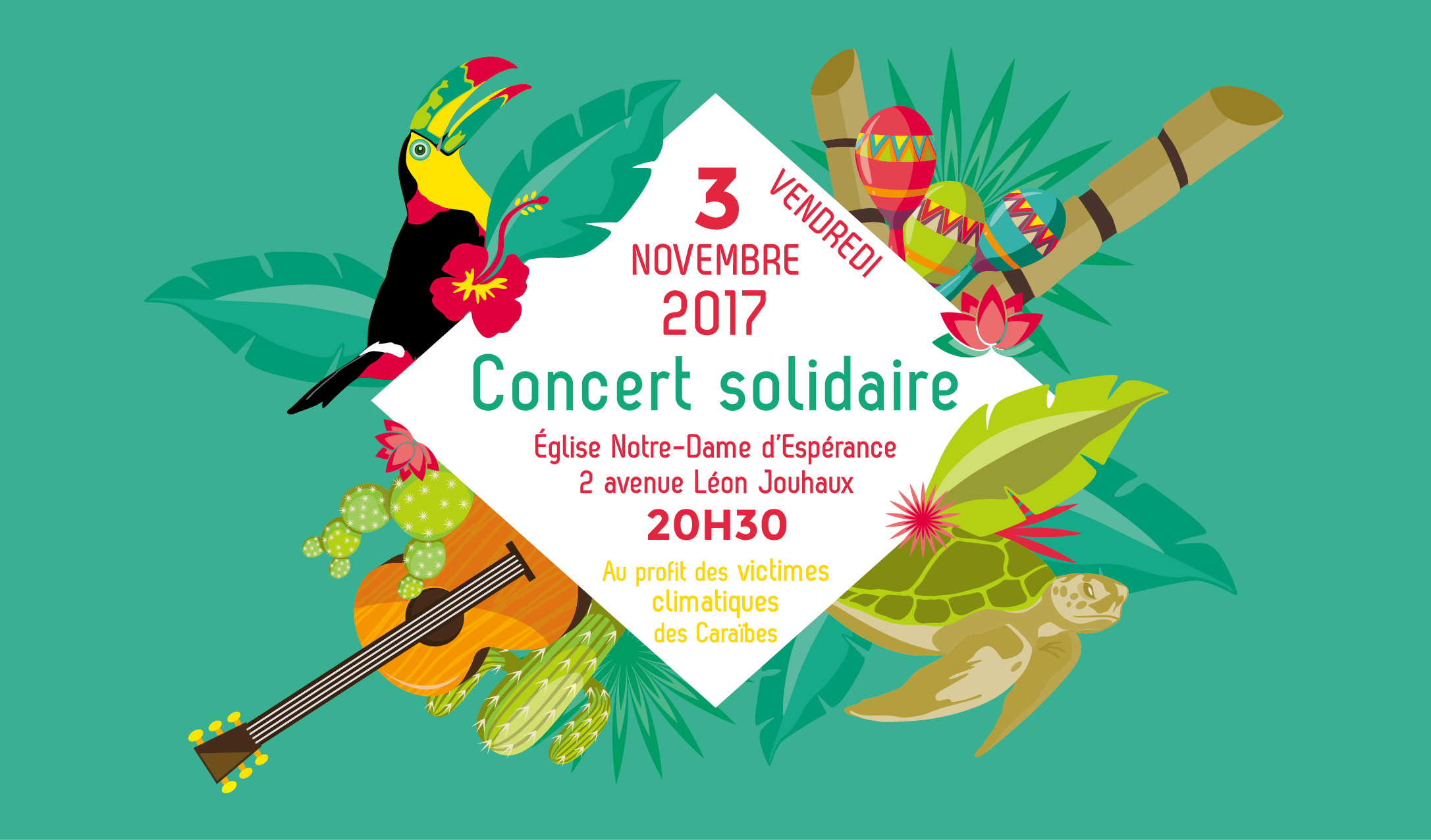 Concert Solidaire Caraïbes